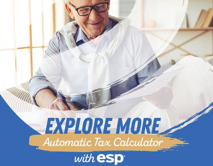 Explore More Automatic Tax Calculator with ESP