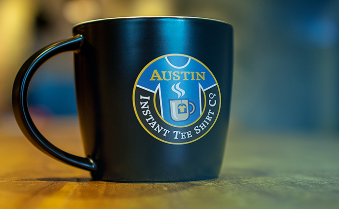 mugs and drinkware, shop the logo store