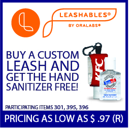 Advertisement: Leashables by Oralabs