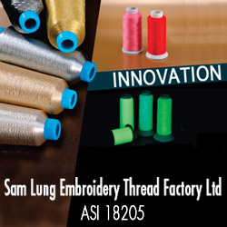 Advertisement: Sam Lung Embroidery Thread Factory