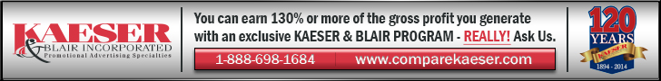Advertisement: Kaeser & Blair
