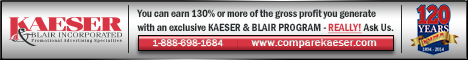 Advertisement: Kaesar & Blair Inc
