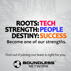 Advertisement: Boundless Networks