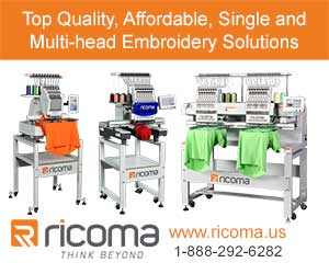 Advertisement: Ricoma Int'l