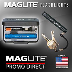 Advertisement: Maglite Promo Direct