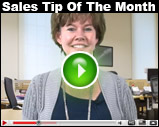 Sales Tip Of The Week