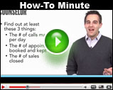 Counselor's How-To Minute: Help Underperforming Salespeople