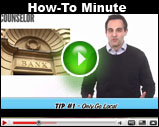 Counselor's How-To Minute: Shopping For Banks