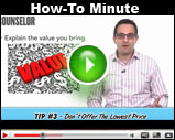 Counselor's How-To Minute: Improve Customer Loyalty