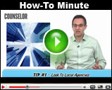 Counselor's How-To Minute: Purchase Office Space