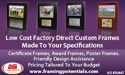 Advertisement: About Frames Inc