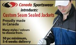 Advertisement: Canada Sportswear Corp