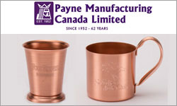 Advertisement: Payne Manufacturing Canada Limited
