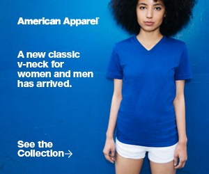 Advertisement: American Apparel