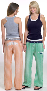 From U-Trau Inc. (asi/93133), flannel Breezy Pants (15146) come in several fun color combinations.