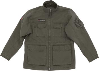army-style jacket w/�Expedition� patch