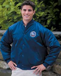 From Game Sportswear Ltd. (asi/55752), the PSKA jacket has that classic look with slash-font pockets, a button-up front and a stretch nylon knit collar.