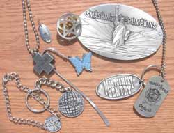 From Absolute Pewter (asi/30438), a host of custom and domestically made music merchandise items that are becoming big business.