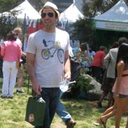 Heroes star Zachary Quinto certainly fulfills the event's