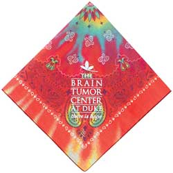 From Caro-Line/Bandanna Promotions (asi/44020), bandanas in all colors and style are popular again.