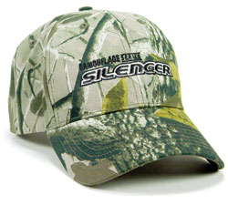 From Cap America (asi/43792), its new Silencer Cap features camouflage with an in-depth scene of tree bark and leaves on a hunter green background.
