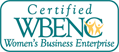 Aberson Narotzky & White Inc. is certified with The Women's Business Enterprise National Council (WBENC)