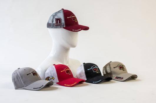 Morrow County Grain Growers customized baseball caps