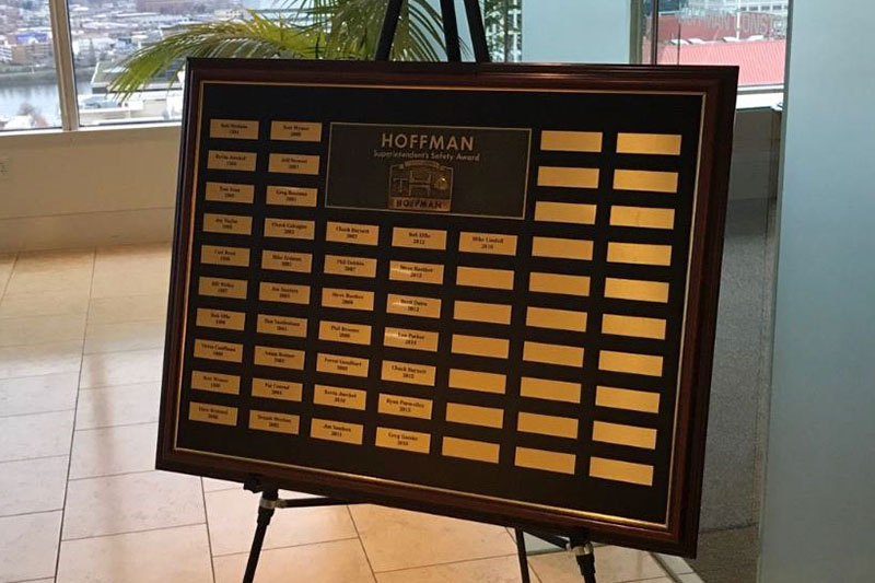 Hoffman Construction Buckles Down with an Innovative Safety Award Idea
