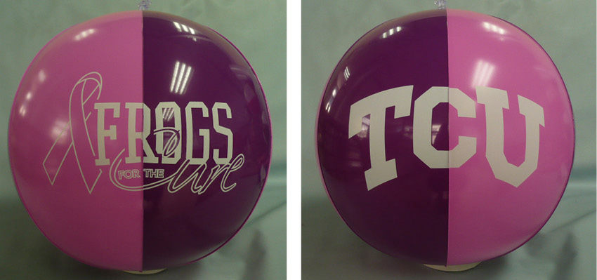 TCU Kicks Off a Themed Fundraising Campaign for Major Wins Against Breast Cancer.