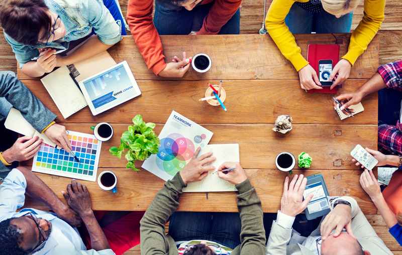 Designers brainstorming