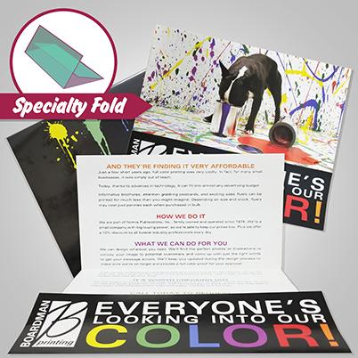 Brochures - Specialty Fold