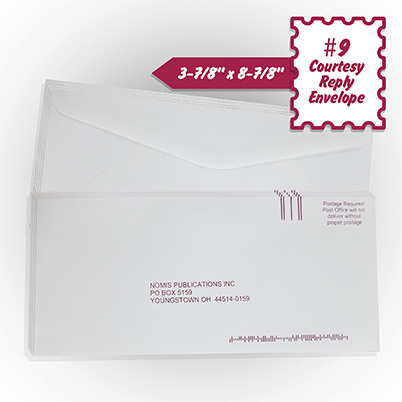 Envelopes - Courtesy Reply