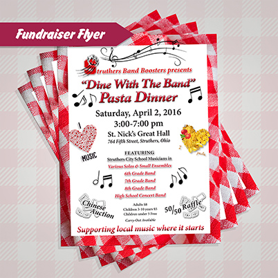 Flyers - Fundraiser