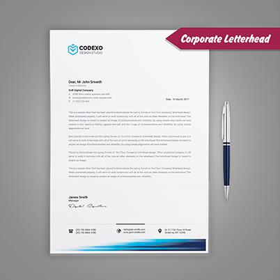 Letterheads - Corporate