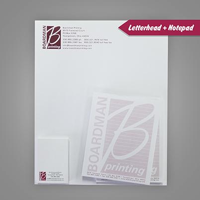 Letterheads - Notepads