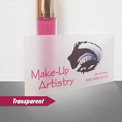 Business Cards - Transparent