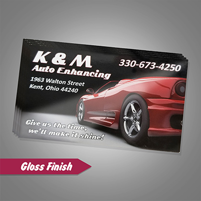 Business Cards - Gloss