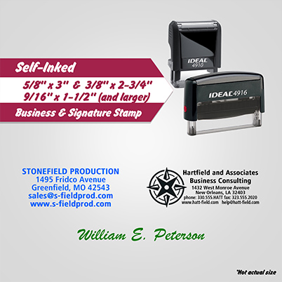Stamps - Business Signature