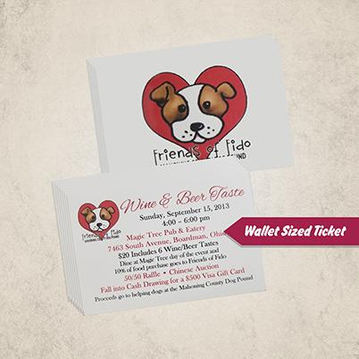 Tickets - Wallet Sized