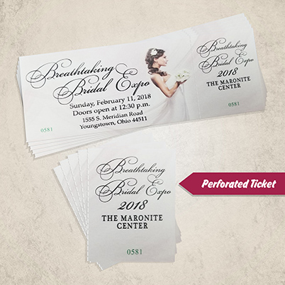 Tickets - Perforated