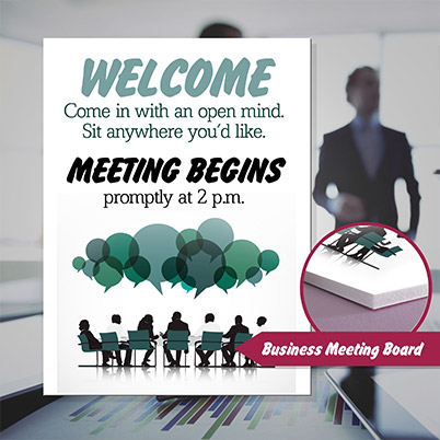 Foam Board - Business Meeting