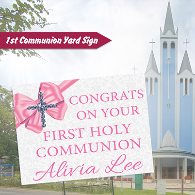 Yard Sign - Communion