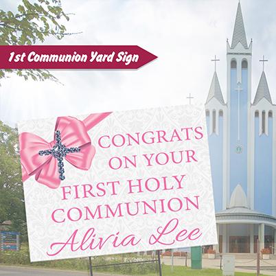 Yard Sign - Communion