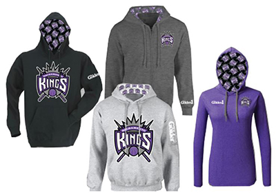 kings sweat shirts