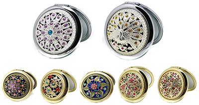 jeweled mirrors