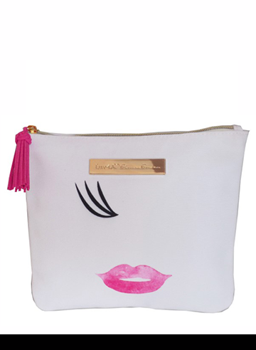 kiss cosmetic bag