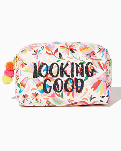 looking good cosmetic bag