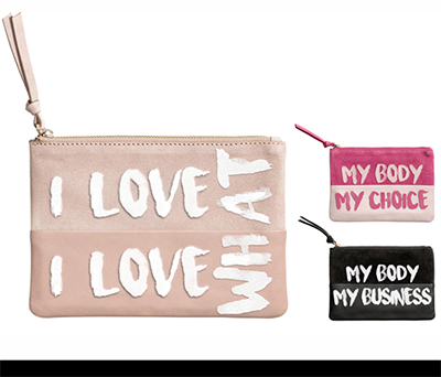 statement pouches