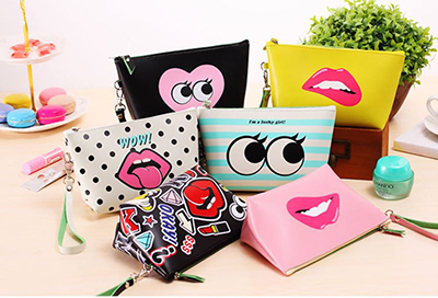 attitude cosmetics bags