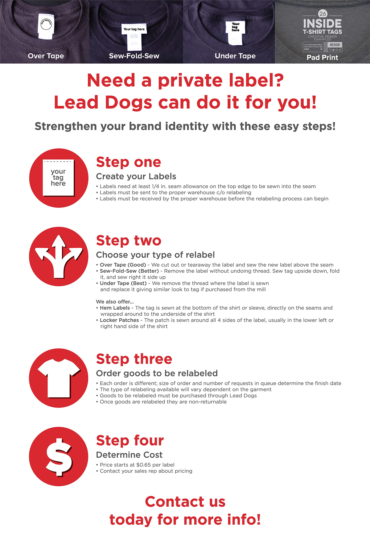 Our Services - Lead Dogs